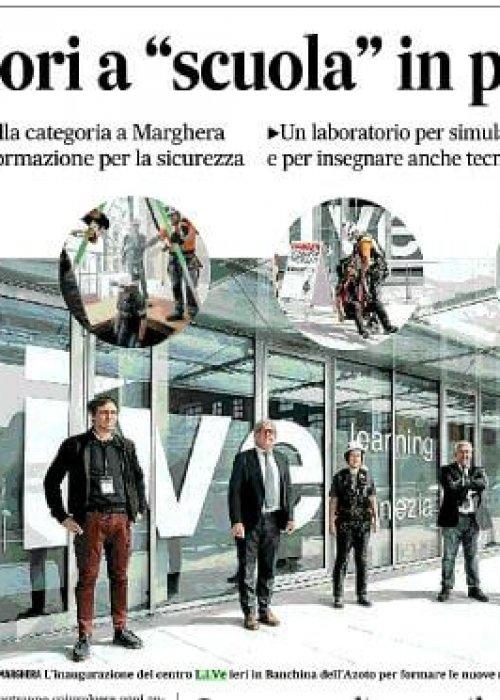 inaugurazione live gazzettino