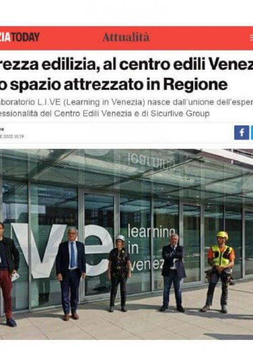 inaugurazione live venezia today